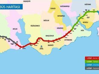 Metrobus Haritası