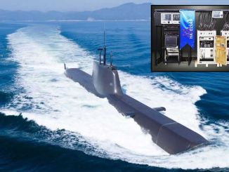 chief class submarine submarine information distribution system came to testing phase
