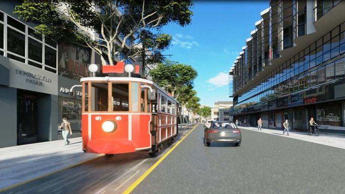 Sakarya is bidding on the nostalgic tram again