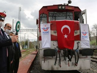 With the opening of the samsun sivas railway line, the staff freezes to their original positions