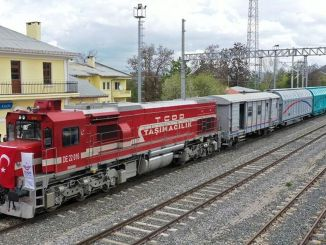 Tuyến đường sắt Sivas samsun sẽ được vận chuyển hàng triệu triệu tấn