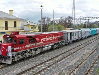 Лінія поїздів sivas samsun знову відкрилася
