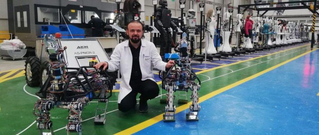 yerli ve milli arazi robotumuz arat