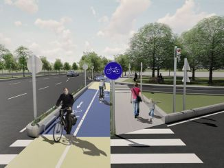 a thousand kilometers of bike path will be built