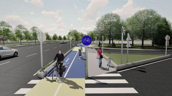 bit će izgrađeno hiljadu kilometara biciklističke staze