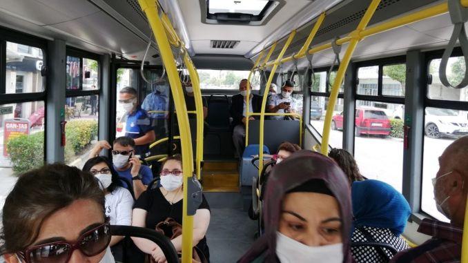 Mask Inspection in Mass Transportation