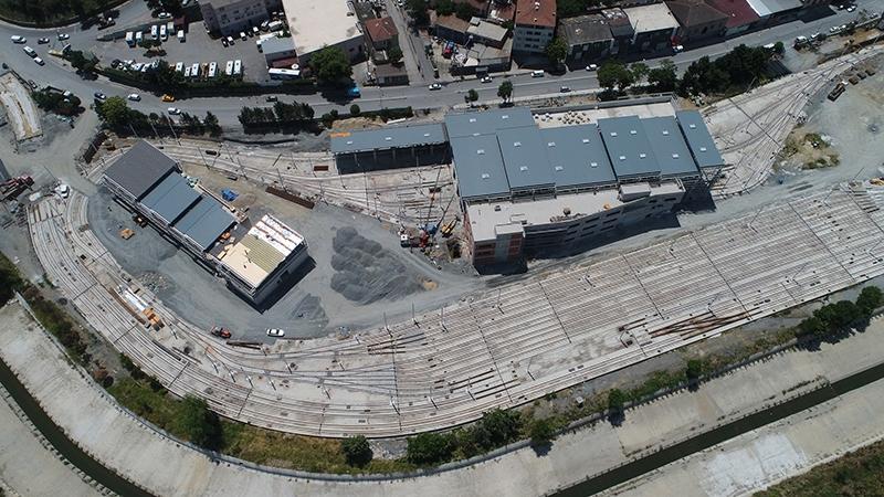 alibeykoy tram warehouse