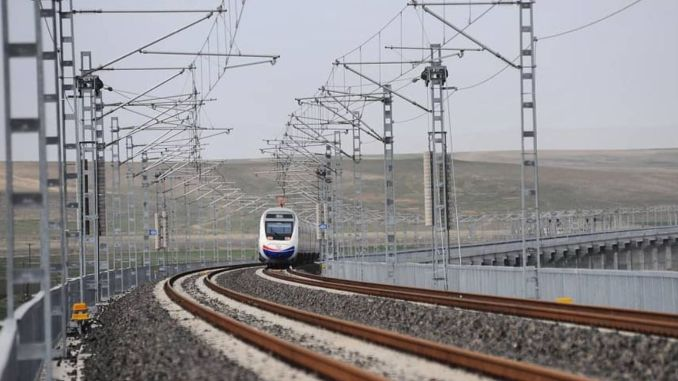 ankara sivas high speed train line delay caused