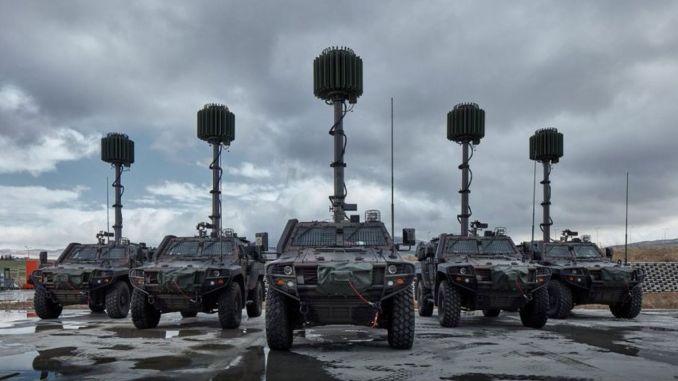 Продолжается поставка мобильных радаров для обнаружения минометов aselsan serhat