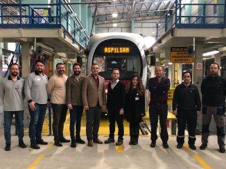 Aspilsan sistem kereta api pertama turkiyede produksi kendaraan adalah aku