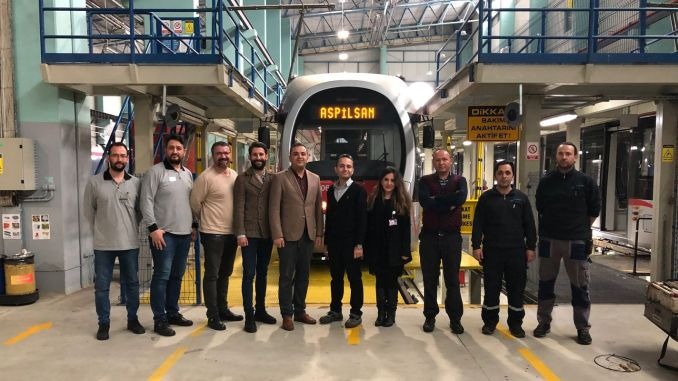 Aspilsan first rail system turkiyede vehicle production was aku