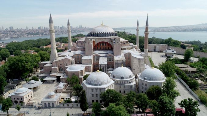 What we do not know about the Hagia Sophia mosque