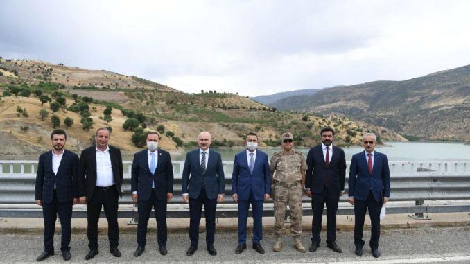 Ministar Karaismailoglu istražio je Siirtove spasene radove na izgradnji puteva