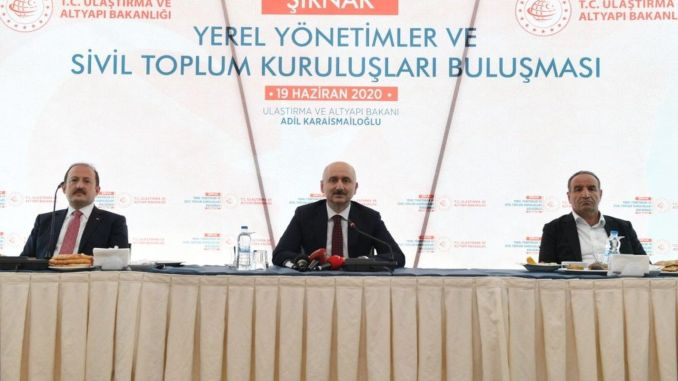 minister met with representatives of NGOs in karaismailoglu sirnak
