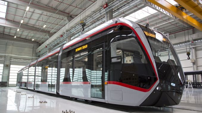 Bozankaya Will Produce Low-Floor Tram for Antalya