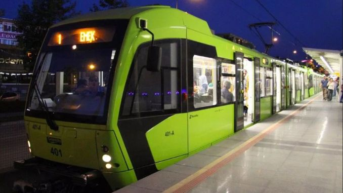 bursa city hospital subway will go from underground, not from night