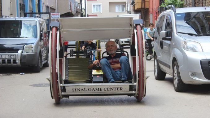 Made an electric vehicle in Bursa, ordering