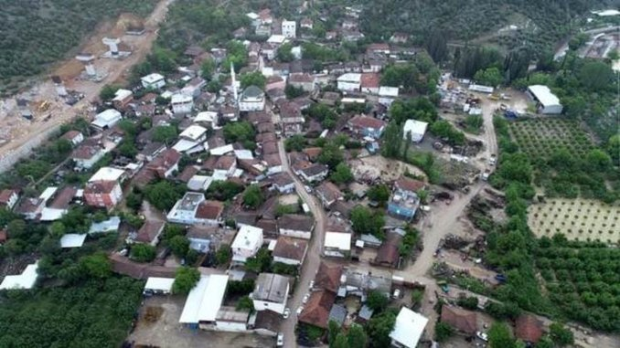 Is the speed train construction the reason of the flood disaster in Bursa?