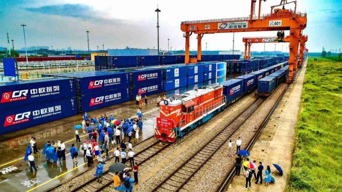 the number of goblin european freight trains increased compared to last year