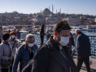 It is mandatory to wear a mask in open areas in Istanbul