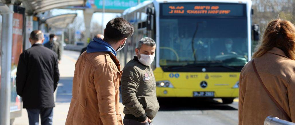 istanbulda otobus ve metrobuslerde yolcu kapasitesi karari