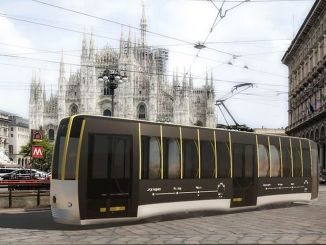 трамвај за социјалну даљину дизајниран је у Италији