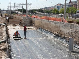 izmit korfez mahalle houses train station construction continues