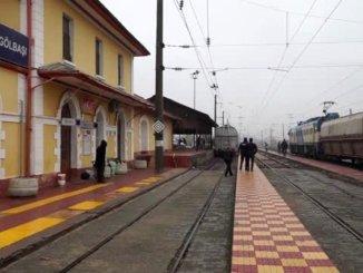 Unterer Durchgang zum Golbasi-Bahnhof, wo es zu Unfällen kam