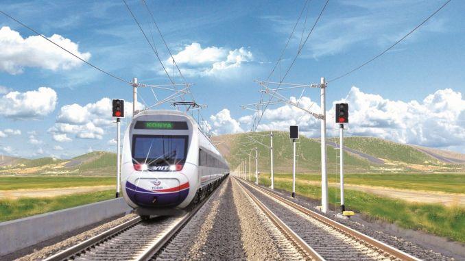 konya karaman high speed line will be put into service this year