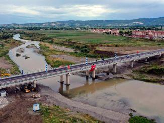 Most lala sahin pasa koprı otvoren za promet