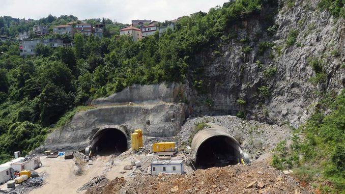 Mithatpasa tunellərinin tikintisi üçün tender