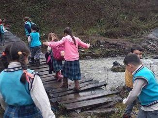 Der Weg von Oul war wie die Brücke von Sirat