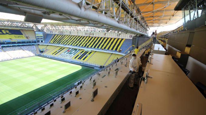 stadion sukru saracoglu dezinficiran