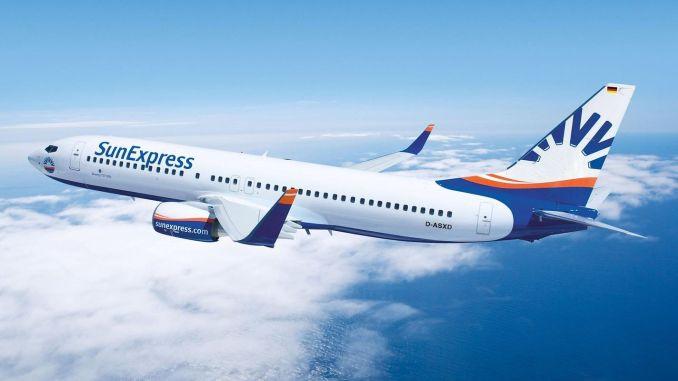 sunexpress started international flights