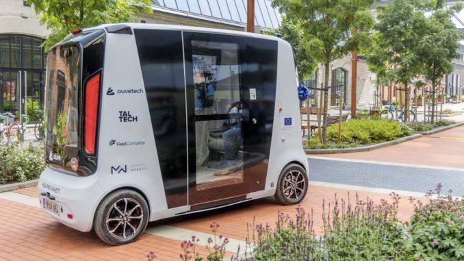 talin driverless vehicle