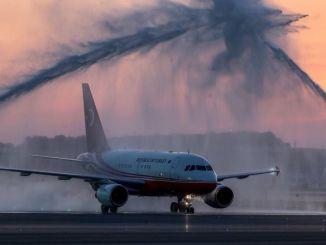 I dagens datum juni flygplan med president Erdogan NEW