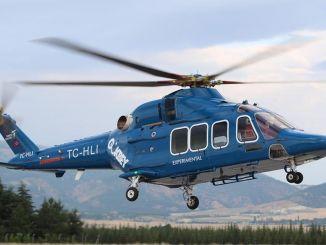 Тей Гокбей поставляет отечественный двигатель вертолета в Тусу