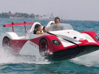 Turkish entrepreneur first domestic sea car was developed