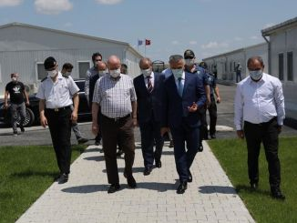 Governor Bilgin Halkali investigated at the Kapikule Fast Train Station