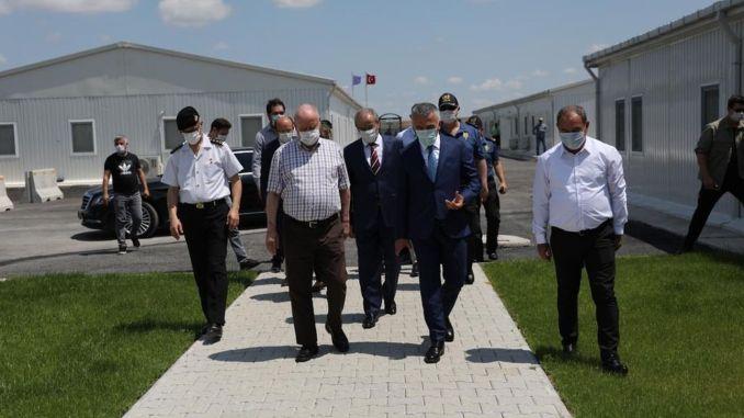 Bilgin Halkali kormányzó nyomozott a Kapikule gyorsvasútnál