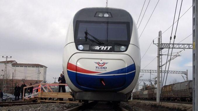 高速火車將改變粘液的命運