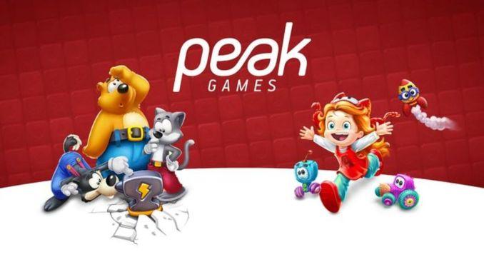zynga turk game company buys peak gamaret