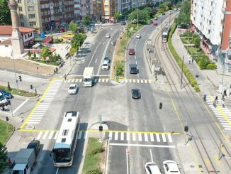 Works on Cumhuriyet Boulevard Completed