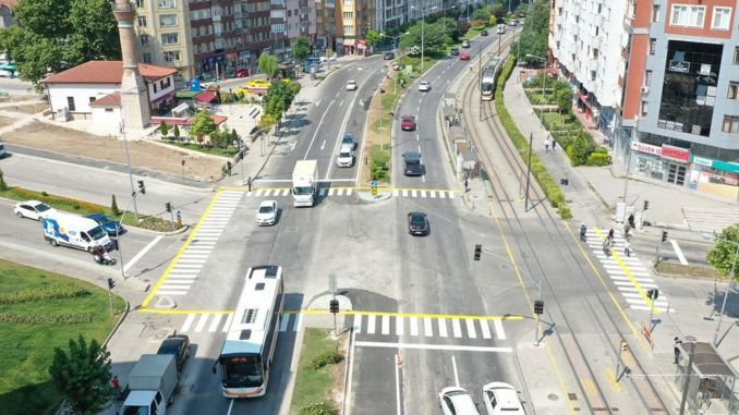 Works on Cumhuriyet Boulevard Completed