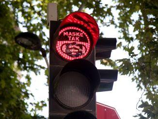 Conciencia de máscara en semáforos