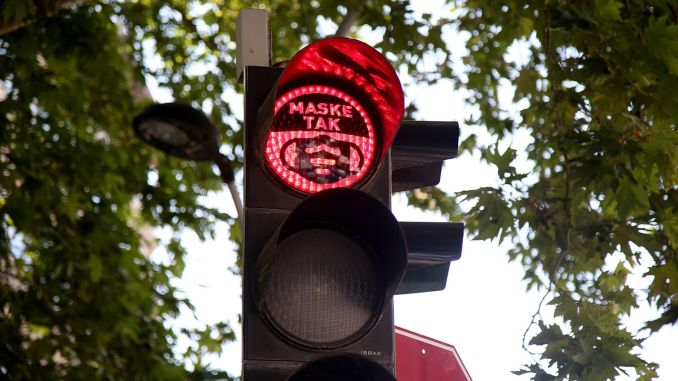 Mask Awareness in Traffic Lights