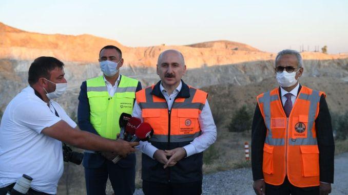 Adana gaziantep dan bursa izmir yht pekerjaan berlanjut tanpa henti