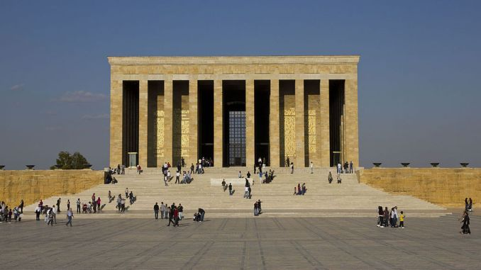 When Did Anıtkabir Construction Begin? Architecture and Departments