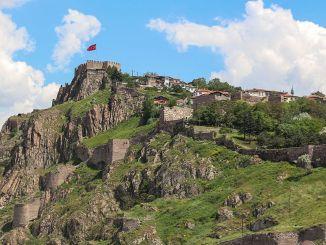 o histórii a architektúre hradu Ankara