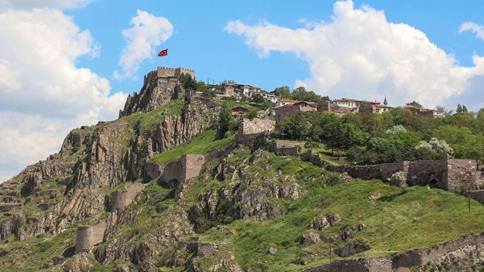 about the history and architecture of ankara castle